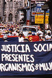 Picture of a women's rights march in El Salvador
