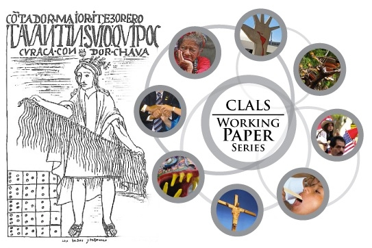 A circle of images demonstrate the breadth of topics encompassed in the Working Paper Series.