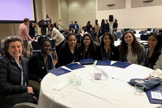 AU Students attend AL1GN conference last in March.