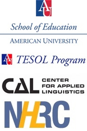 School of Ed, TESOL Program, Center for Applied Linguistics, National Heritage Language Resource Center