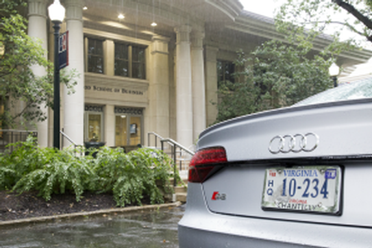 Audi outside the Kogod School of Business