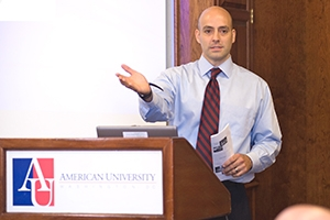 SIS Assistant Professor David Bosco has written books on the UN Security Council and the International Criminal Court.