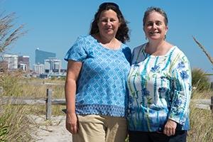 Deborah Figart and Ellen Mutari. Photo credit: Amanda Stevenson Lupke.