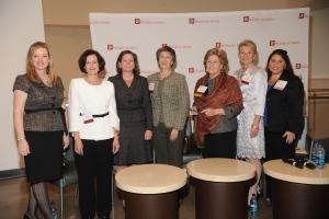 Alliance for Women in Media and WPI panelists