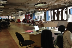 People in the 1776 work space.