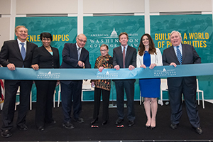 AUWCL's Tenley Campus officially opened on February 12 with a special ribbon-cutting ceremony.