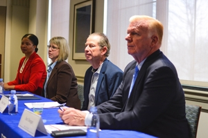Panelists at the Millennial Index launch event on February 1