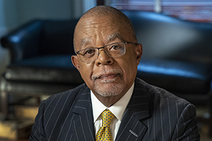Head shot of Harvard scholar Henry Louis Gates Jr.