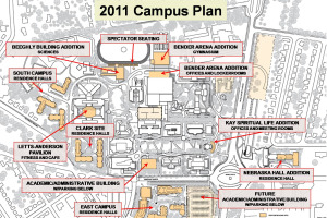 2011 Campus Plan Map