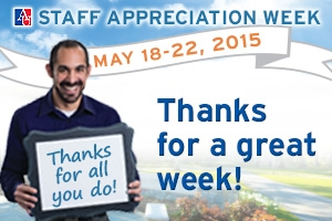 2015 Staff Appreciation - Thanks for a great week!