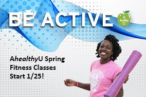 AhealthyU Spring 2016 Group Fitness Classes