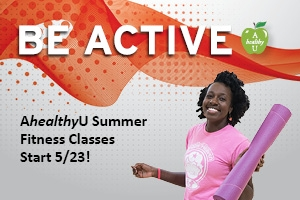 AhealthyU 2016 Summer Group Fitness Classes