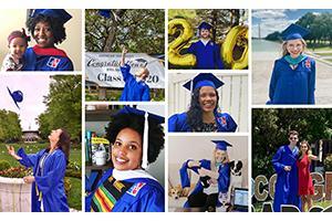 Montage of graduates