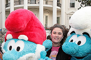 Kate Hoffman, SOC/BA '04, attended a White House Easter Egg Hunt.