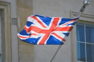 Flag of the United Kingdom.