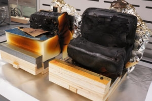 American University chemistry researchers and National Institute of Standards and Technology scientists improve smoldering test for furniture