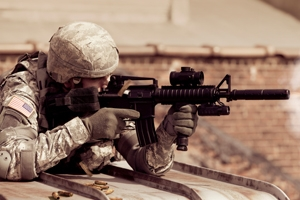 New research coauthored by marketing professor Cristel Russell shows that soldiers who kill in combat are less likely to abuse alcohol.
