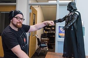 SOC Assistant Professor Kyle Brannon talks Star Wars just before the original film's 40th anniversary.