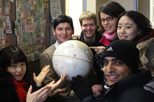 Students find support at the International Student and Scholar Services Office.