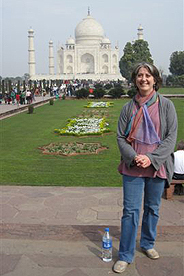 Picture of Sara Dumont in India