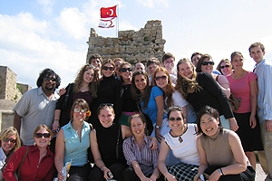 Students on a field trip Northern Cyprus