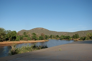 View of river near Lake Turkana