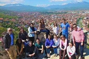 AU students enjoying their time in Brussels, Belgium.