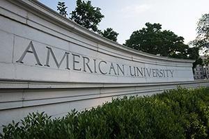 American University entrance
