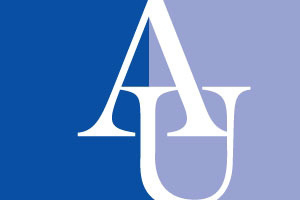 AU logo in blue
