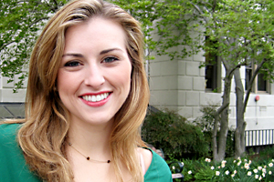 Alexis Carlson, CAS/BA '13, will attend McGill University in Montreal as a Killam Fellowship recipient.