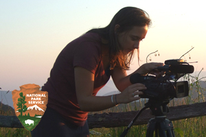 Dean's Intern Regan Alsup has been part of a project to develop a climate change video series targeted towards National Park Service interpreters and rangers.