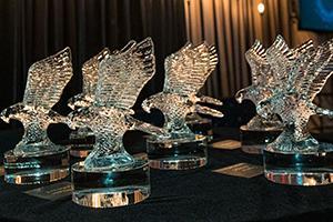 Crystal Eagle trophies