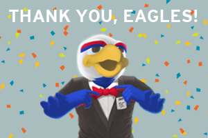 Thank you, Eagles!