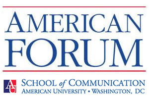 American Forum is a co-production of WAMU 88.5 FM and American University's School of Communication