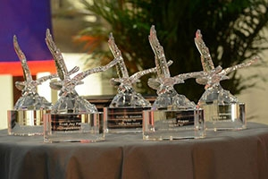 Crystal Eagle trophies