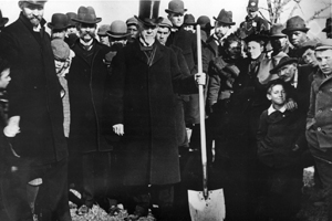 Bishop Hurst at Groundbreaking