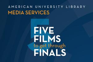 Five Films to get Through Finals Logo