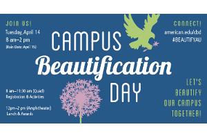 Campus Beautification Day 2014