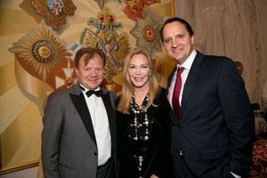 Igor Butman with Susan E. Carmel and Anton Fedyashin
