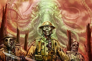 Title art of the video game Call of Cthulhu: The Wasted Land. Credit: Red Wasp Design.