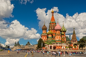 St.Basil's in Moscow