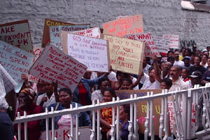 Chagossian Protest