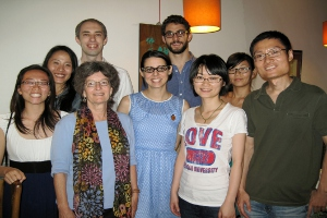 Judy Shapiro reunion with SIS students in China