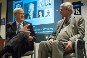Chris Matthews and Prof. Steinhorn