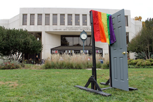 AU celebrates National Coming Out Day and LGBT History Month.