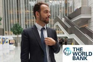 Washington Semester Intern Sebastian Urthaler at the World Bank