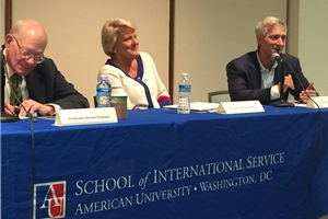 Panel discussion on American Diplomacy