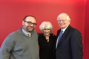 Darren Samuelsohn, Diane Rehm, and James A. Thurber