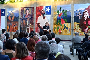 Chilean President Speaks at AU Museum