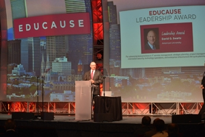 CIO Dave Swartz Wins EDUCAUSE Leadership Award